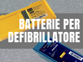 Batterie per defibrillatori
