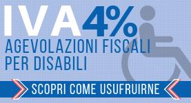 Banner Iva 4% disabili